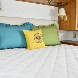 AB Lifestyles RV Mattress Pad Quilted 3 Camper Bunk Sizes