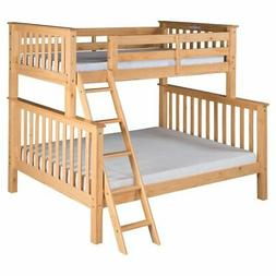 Camaflexi Santa Fe Mission Tall Bunk Bed Twin over Full - An