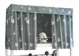 JIAHG Students Dormitory Bunk Bed Curtains Single Bed Tent C