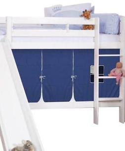 Theodore Bunk Bed with Slide and Tent for Boys