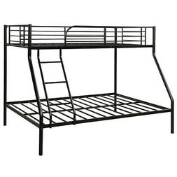 Twin over Full Bunk Bed Sturdy Metal Platform Foundation W/