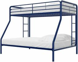 DHP Twin-Over-Full Bunk Bed with Metal Frame & Ladder, Space