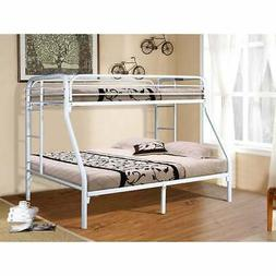 Donco Kids Twin over Full Metal Twin Bunk Bed