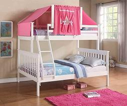 twin over mission bunk bed