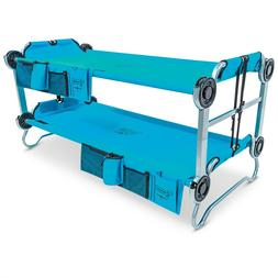 Youth Kid-O-Bunk Portable Bunk Bed with Organizers Waterproo